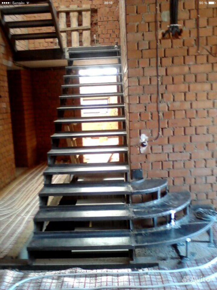 Металлическая лестница своими руками на второй этаж своими руками