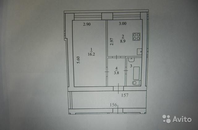 Продаю: 1-к квартира, 32 м , 6 9 эт.. Архангельская область,  Архангельск
