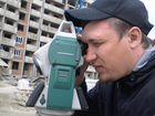 Иллюстрации и видеоролики из базы фотобанка лори вы можете купить геодезия, геодезист, работает, мужчина