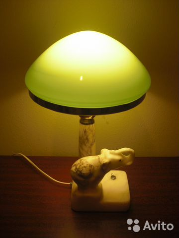 Сталинская лампа из камня