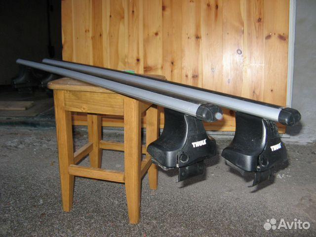 Комплект багажника thule smartrack 784 для а/м с продольными рейлингами, 118 см низкая цена