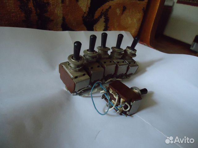 Тумблеры П2Т-1 Ш, (6А 250VAC),