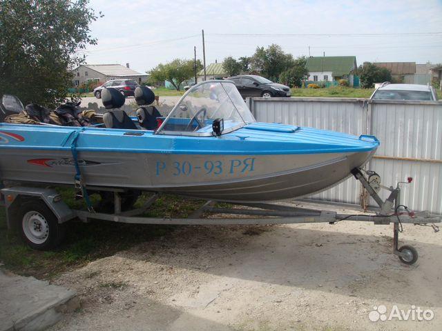 лодка бу казанка на авито