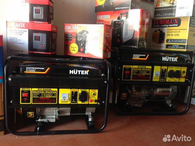 Бензиновый генератор huter dy3000lx HUTER DY3000LX