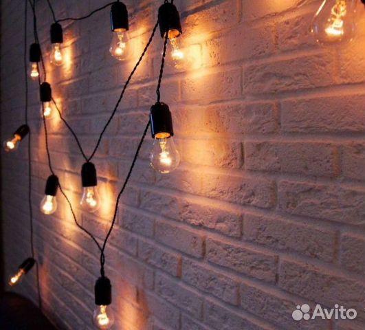 Как сделать гирлянду из лампочек