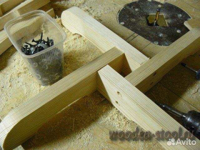 Деревянная подставка для елки своими руками 48