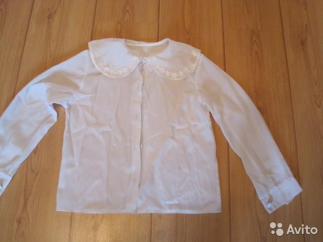 Белые Блузки Для Школы В Самаре