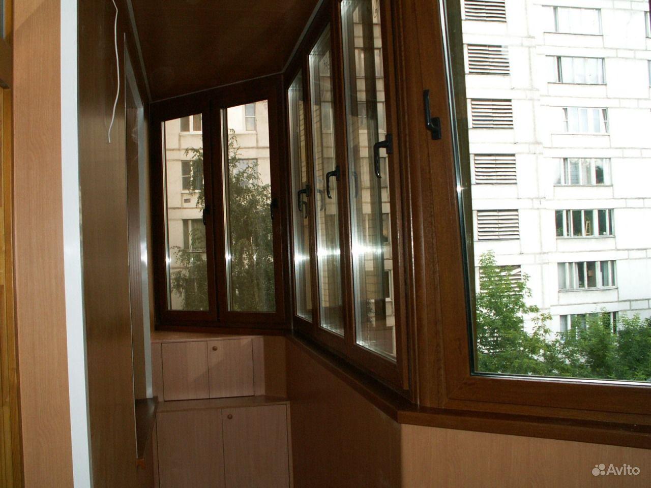 Балкон типа утюжок.