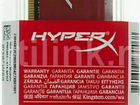 Модуль памяти Kingston HyperX Fury Red DDR3 8Gb