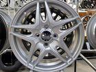 Новые литые диски R15 4 100 TechLine Silver