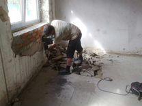Демонтаж стен,пола,дверей,окон,дома,кафель,плитка — Предложение услуг в Санкт-Петербурге