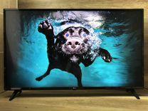 4K UHD Smart TV телевизор LG 43UJ634V