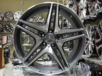Новые диски R19 5x112 на Mercedes Разноширокие