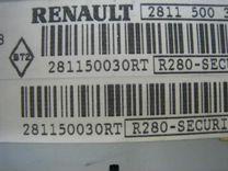 Магнитола Renault Fluence