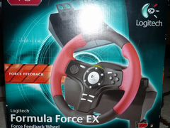 Руль и педали Logitech Formula Force EX
