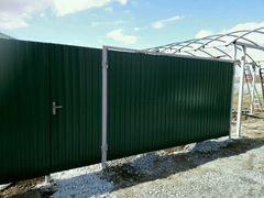 Ворота из профнастила батайск разъехались ворота как стянуть