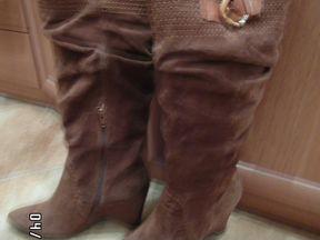 Новые женские сапоги, демисезонные. 39 размер