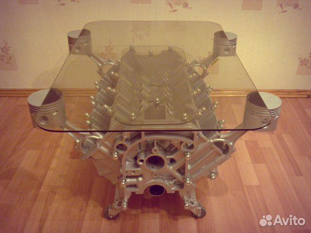 Стол из двигателя