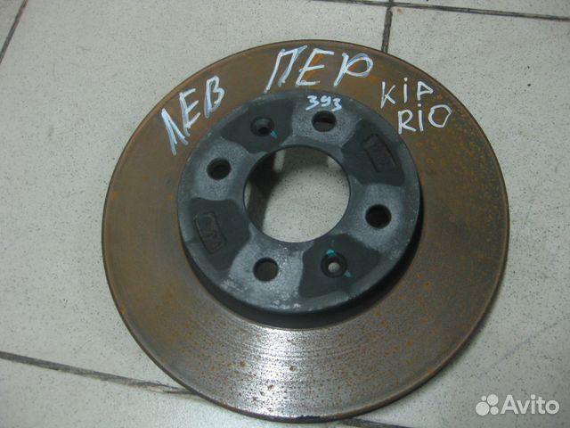 киа рио тормозные диски фото