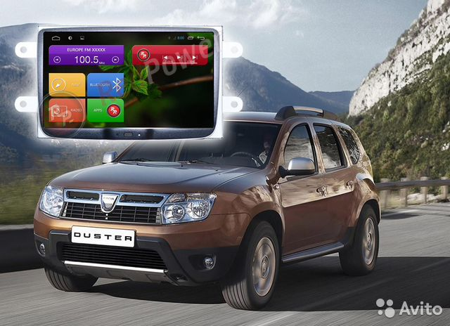 Renault Duster, Logan RedPower 21157B HD Android 4— фотография №1