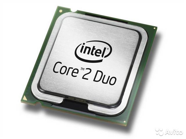 Процессор Intel Core 2 Duo LGA775 + Кулер
