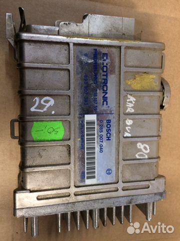 Блок управления двигателем Ауди 0285007040 8939073— фотография №1