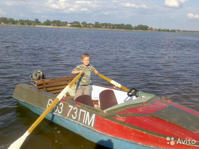 купить бу лодку с мотором в чебоксарах