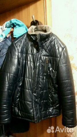 Продам кожаную куртку купить в Краснодарском крае на Avito ... c70c72b808a