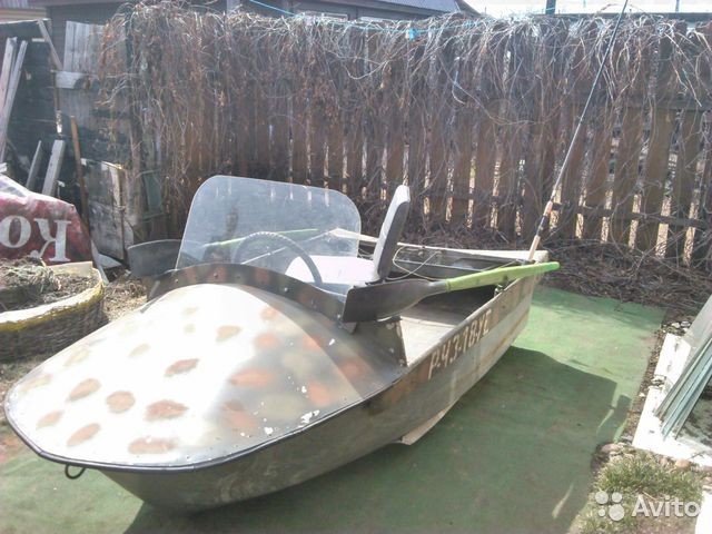 лодка моторно гребная волжанка
