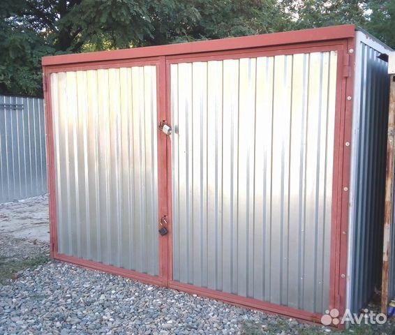 Гаражи металлические разборные бу куплю гараж ул днепропетровская