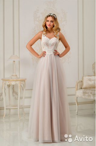 0b4f93d782c Свадебное платье пудрового цвета la petra