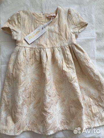620b2ed768184d1 Платье красивое для девочки на 122. De Salitto купить в Иркутской ...