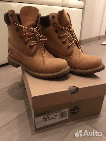 Ботинки Timberland 6 in prem rust  6304d27fd9940