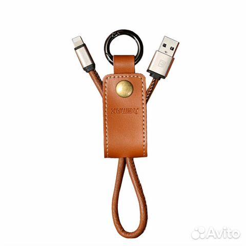 Usb кабель брелок Lightning для Iphone Remax West купить в