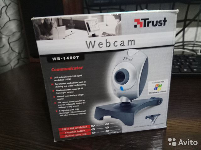 TRUST WEB CAMERA WB 1400T DRIVERS PC