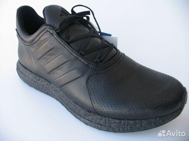 Кроссовки Adidas Ultra Boost Кожа Черные 42 купить в Санкт ... 67b9042dab0