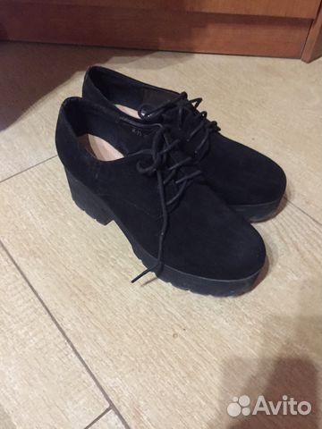 b2aa9c9fc Туфли ботинки женские черные 38рр | Festima.Ru - Мониторинг объявлений