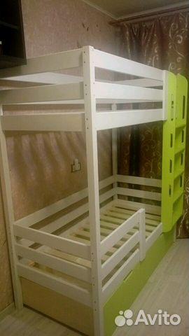 Кровать детская двухярусная купить 7