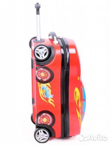 2f159270668a Детский чемодан-машинка на колесах - Личные вещи, Товары для детей и  игрушки - Москва - Объявления на сайте Авито
