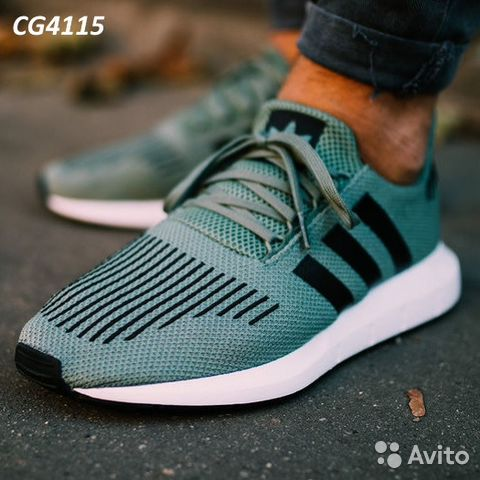 f5807974a5a49 Кроссовки adidas originals swift RUN CG4115 купить в Омской области ...