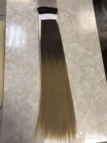 Волосы на заколках купить 4