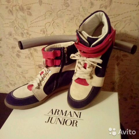 37743261 Кроссовки Armani 37-38 размер | Festima.Ru - Мониторинг объявлений