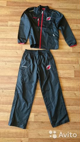 89036020550 Костюм Ветровка + штаны CCM New Jersey Devils, p