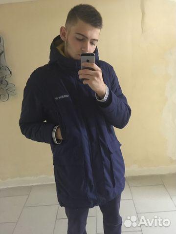 91673462 Мужская темно-синяя парка от Adidas | Festima.Ru - Мониторинг объявлений