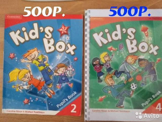 Kids Box 1 Pupils Book