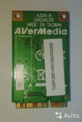 AVERMEDIA A309 DRIVER FOR WINDOWS