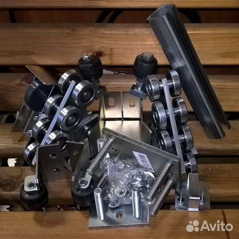 Комплектующие откатных ворот + автоматика проем 4м купить 4