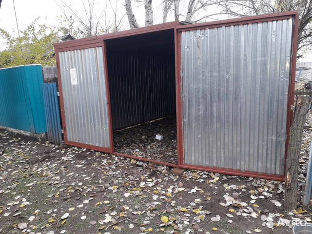 Купить металлический гараж бу самара покраска ржавого металлического гаража