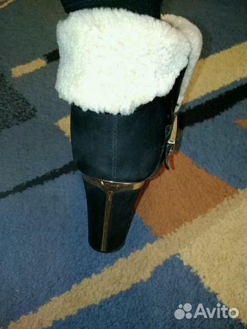Ботиночки женские, замшевые,зимние.Очень теплые  89656415406 купить 6