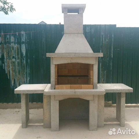 барбекю из бетона купить краснодар